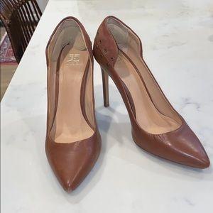 Joe's brown heels